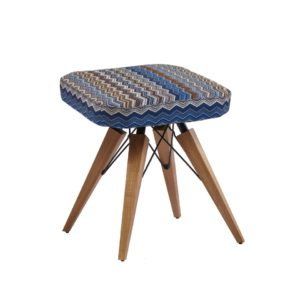 Contemporary stool quality manufactured in Europe.