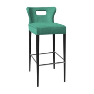 Designer barstool, quality manufactured in Europe.