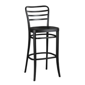 Classic barstool, quality manufactured in Europe.