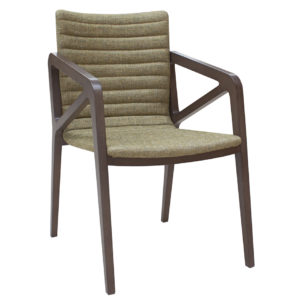 contemporary chair, upholstered in any other material.