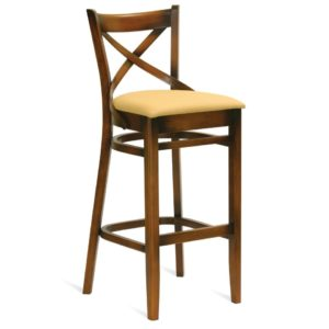 Retro barstool, quality manufactured in Europe.