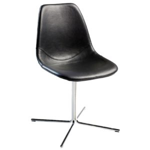 Designer side chair, quality manufactured in Europe.