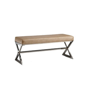 Metal bench, quality manufactured in Europe