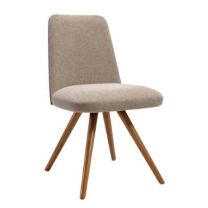 Chair upholstered in any material